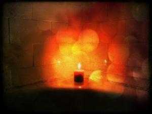 Candles in the Bath