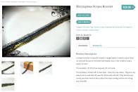 Herringbone Stripes Bracelet