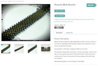 Peanutty Mesh Bracelet