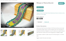 Whisper of Thieves Bracelet 2
