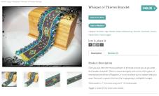 Whisper of Thieves Bracelet